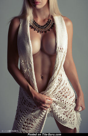 Exquisite Glamour & Non-Nude Babe with Exquisite Regular Hooters & Weird Nipples (18+ Wallpaper)
