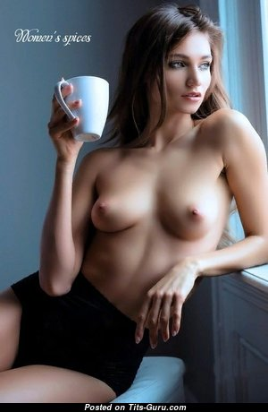 Elegant Babe with Elegant Bare Real Paltry Tit (18+ Pic)