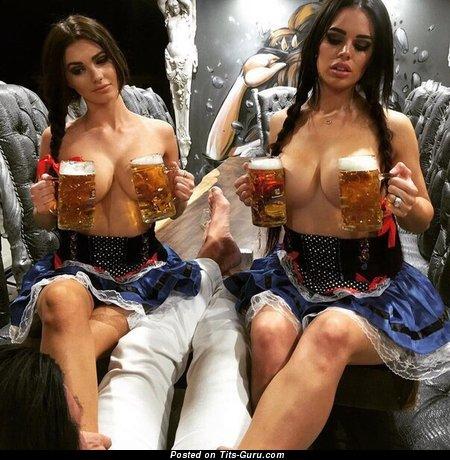 Image. Sexy topless amateur nice woman photo