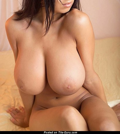 Image. Naked awesome lady with huge natural tits image