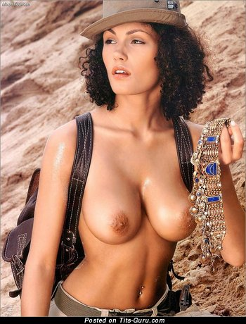 Image. Masha Kozlova - nude wonderful girl with big natural breast photo