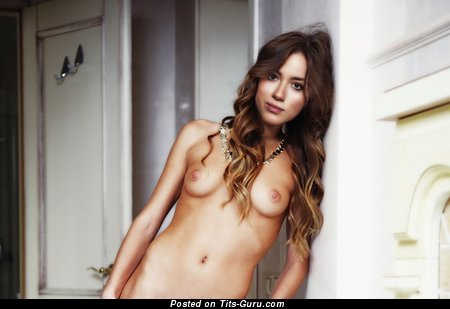 Chloe Bennet - Perfect Topless American Brunette Actress & Singer with Perfect Defenseless Natural Minuscule Hooters & Large Nipples (Hd Sexual Image)