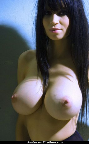 Image. Naked brunette with huge tittys pic