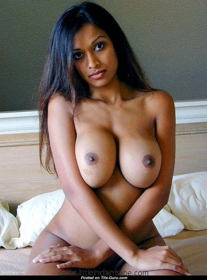 Ebony with tits