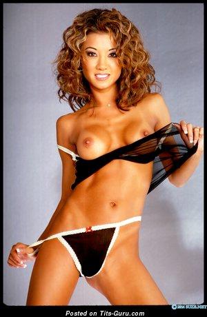Kobe Tai - Hot Taiwanese, American Brunette Pornstar with Hot Bald Fake Chest (Hd Xxx Wallpaper)
