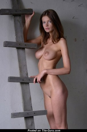 Naked beautiful girl with natural tittys image
