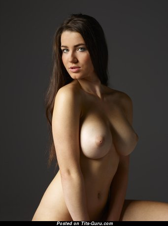 Image. Naked amazing female with big natural breast photo