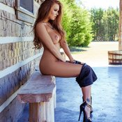 Leanna Decker - amazing female with big boobies image