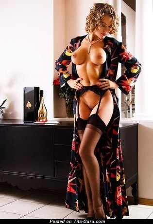 Elegant Miss with Elegant Open Sizable Chest (Sexual Pix)