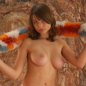 Katia Galitsin - hot girl with big natural tittes photo