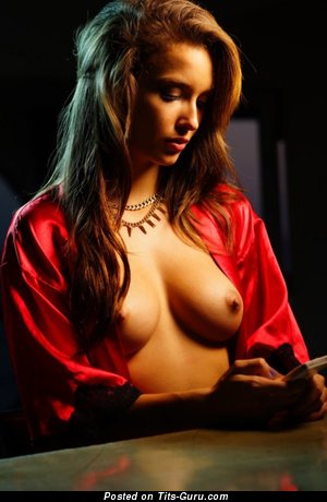 Image. Nude nice lady with medium tittes pic