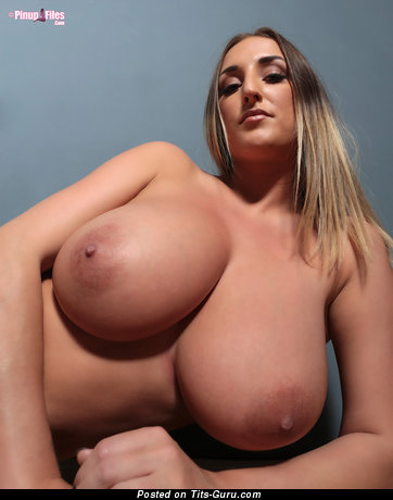 Stacey Poole - Pretty British Girl with Pretty Defenseless Natural G Size Busts & Giant Nipples (Hd Xxx Photo)