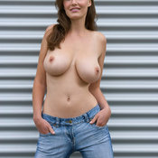 Ashley Spring - amazing woman with big natural tots pic