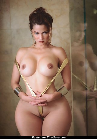 Naked beautiful woman with big tits image