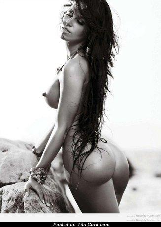 Stanija Dobrojevic - Fascinating Serbian, Croatian Playboy Brunette with Fascinating Bald Average Boobie (Hd Xxx Photoshoot)