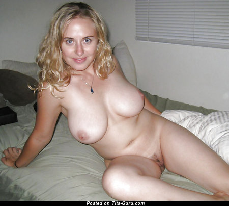 Image. Naked wonderful lady with natural breast image