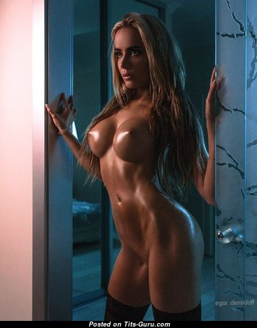 Alluring Naked Blonde (Sexual Image)