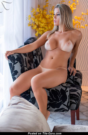 Image. Latina blonde with big natural boobies pic