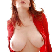 Wonderful female with big natural breast image