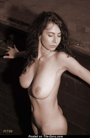 Image. Anna La Douce - naked beautiful female with big natural boobies photo