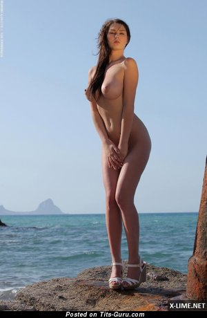 Image. Nude nice female with big breast image