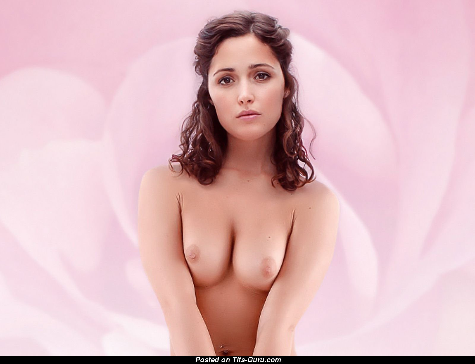 Byrne pics rose topless nude
