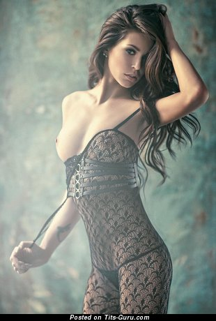 Image. Hot female with medium natural boob photo