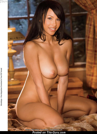 Image. Kylie Johnson - nude asian brunette with big natural tittys photo