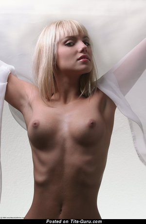 Image. Nude awesome female with medium natural boobs photo
