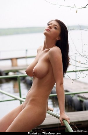Image. Wonderful girl with big natural tittys pic
