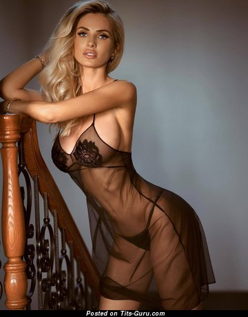 Leana Bartlett - Yummy Undressed Blonde Babe in Lingerie (Hd Sexual Pic)