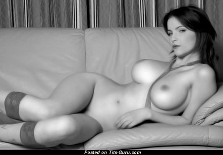 Nude nice woman with big boobies photo