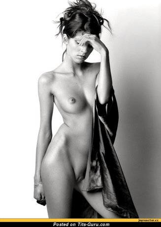 Image. Nude awesome woman with medium natural boobs image