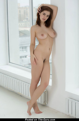 Image. Naked hot girl with medium natural tits photo