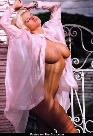 Anna Nicole Smith - Hot American Playboy Blonde Actress with Hot Nude Average Tittys (Sexual Pic)