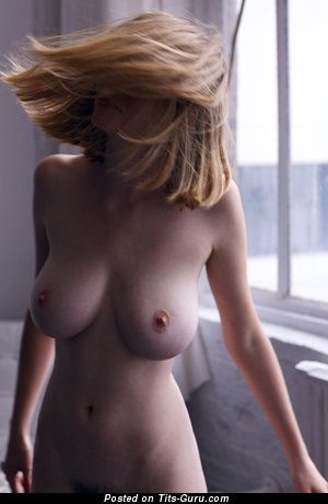 The Best Female with The Best Defenseless Natural Great Boobs (Hd Sexual Image)