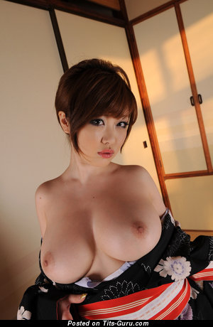 Rio Hamasaki - Lovely Japanese Pornstar with Lovely Naked Normal Tits (Hd 18+ Wallpaper)