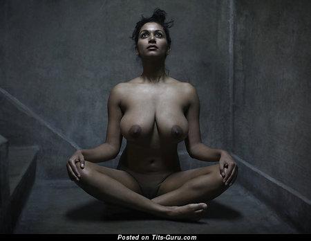 Nude latina with big natural boobies image