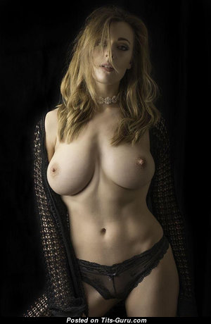 Graceful Babe with Stunning Exposed Natural Soft Tots (Porn Image)