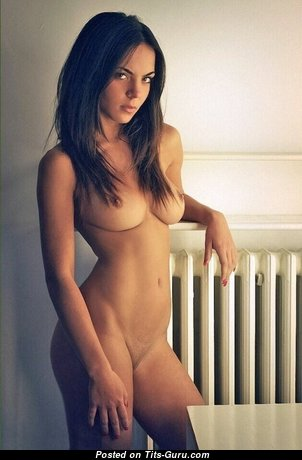 Giulia N - Adorable Topless Brunette Babe with Adorable Open Real Mid Size Boobies (Xxx Picture)