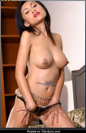 Image. Stacy - naked asian with big natural boobs image