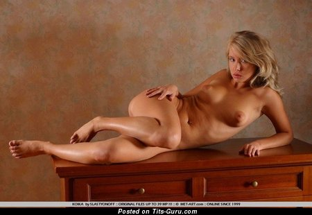 Image. Koika - naked hot lady with medium natural breast picture