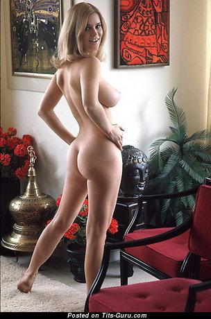 Barbara Hillary - nude wonderful lady with medium natural tots vintage