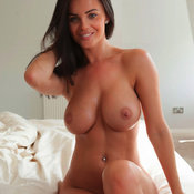 Amazing female with big natural boobies photo