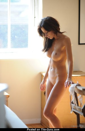 Image. Nude awesome woman with big fake tittes picture