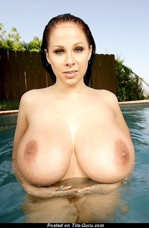 Image. Gianna Michaels - awesome girl with huge natural tittys photo