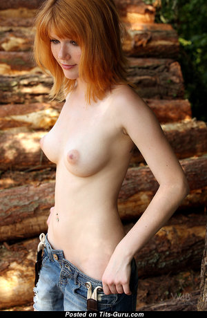 Mia Sollis - Awesome Topless Czech Red Hair with Awesome Bare Natural Average Hooters (Hd Sex Pix)