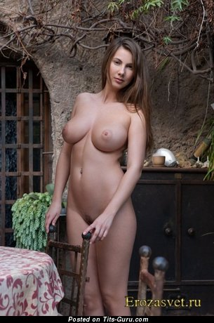 Image. Wonderful female with big natural boobs photo