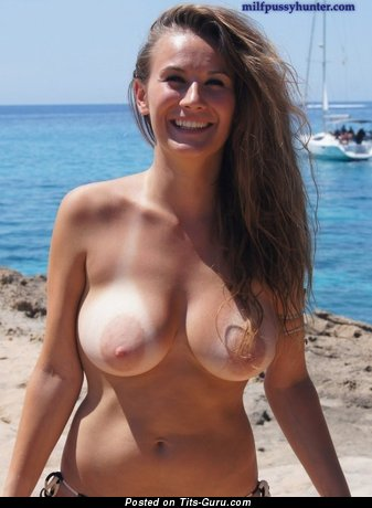 Image. Wonderful girl with big natural breast picture