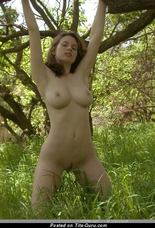 Image. Gigi - awesome girl with big natural boob image